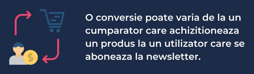 Definitia ratei de conversie si cum se aplica in web design